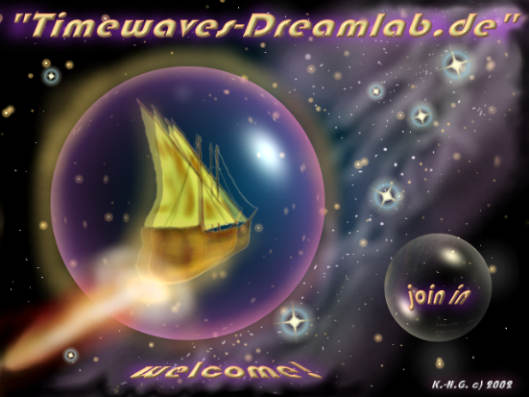 "Artworks: Startseitenbild: ""Timewaves-Dreamlab.de"" by: K.-H.G. c) 2002"